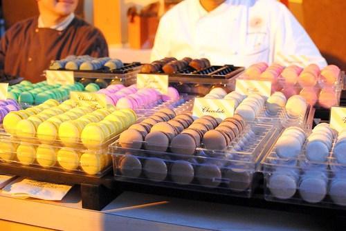 Francois Payard assorted chocolates and macarons