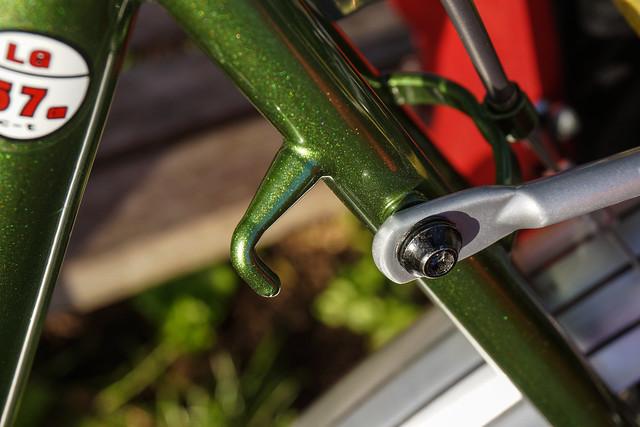 Ridgeback Expedition: rear rack mounts and pump peg