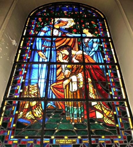 St Adelaide.  Église Notre-Dame de Clignancourt, Paris, France