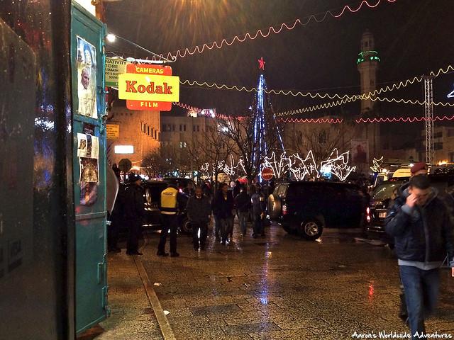Manger Square on Christmas Eve
