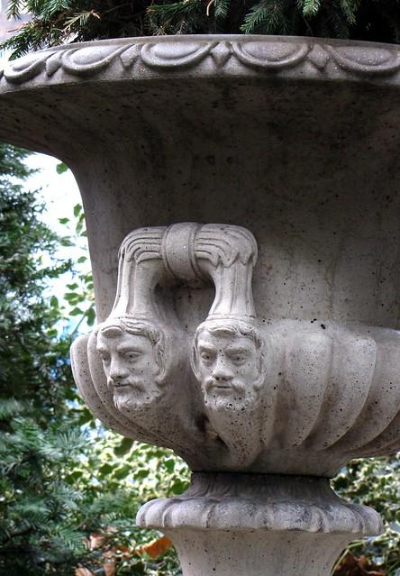 Twin Heads Pot Plant