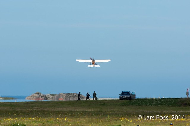 Bleriot XI take-off