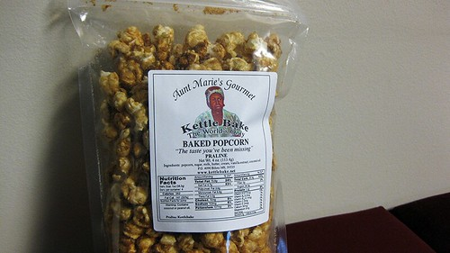 praline popcorn