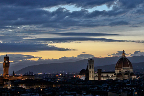 Florence just after Sunset