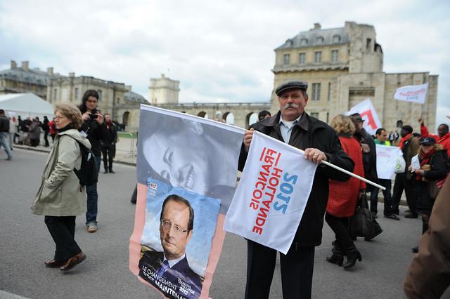 François Hollande à Vincennes, la force du Rassemblement