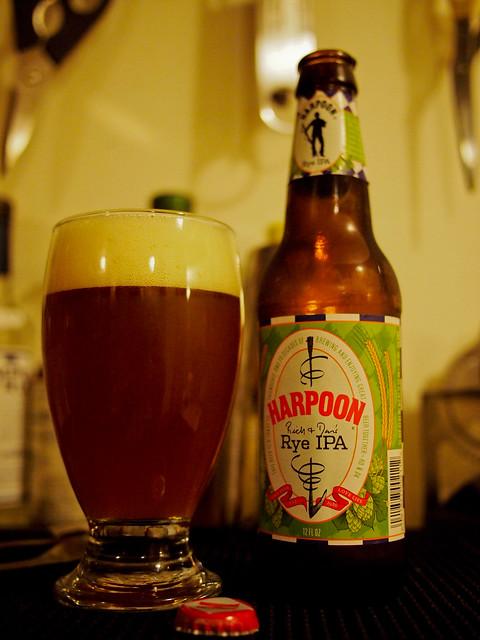 Rich & Dan's Rye IPA - Harpoon Brewery