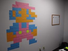 Sticky Note Mario