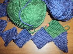 Entrelac Hat Crochet