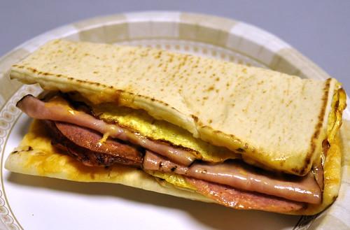 Subway Breakfast B.M.T.