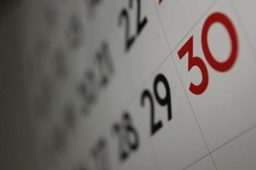 Calendar* from Flickr via Wylio