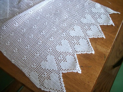 Free Filet Crochet Curtain Patterns Thesofasite