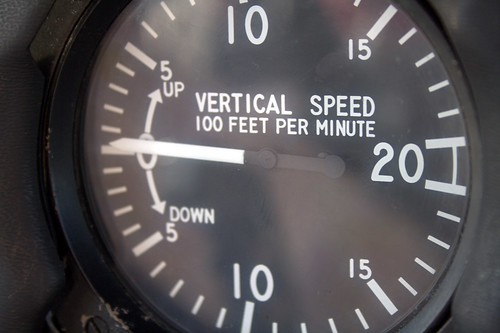 Vertical Speed Indicator by Barnaby K via Flickr