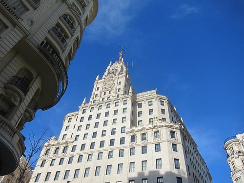 Edificio Telefónica, Gran Vía. Madrid