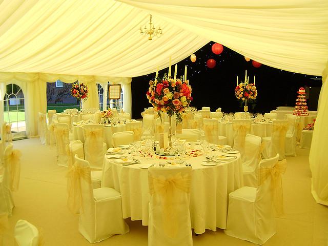 Elegant Wedding Marquee