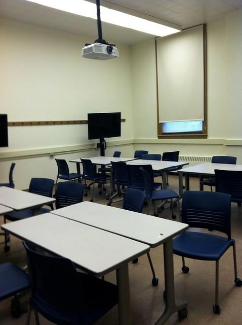 Rhetoric Program Flexible Learning Classroom