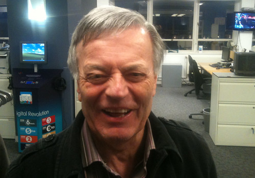 Tony Blackburn visited
