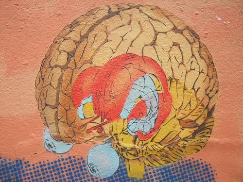 Dotmasters: Nice brain - London graffiti