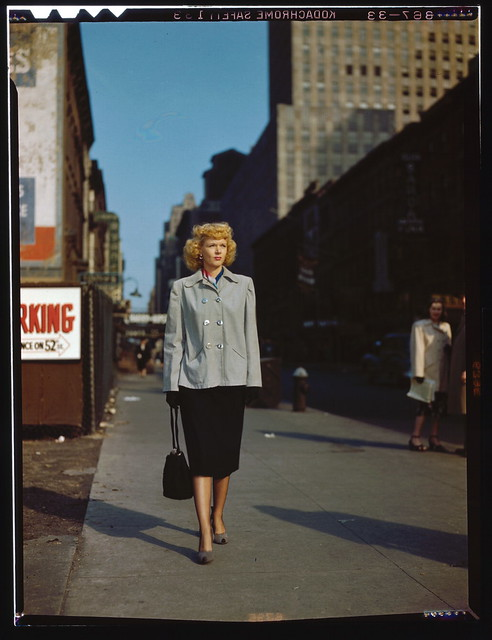 [Portrait of Dottie Reid, New York, N.Y., between 1946 and 1948] (LOC)