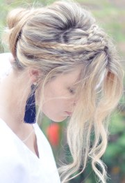 hair tutorial messy rope braids