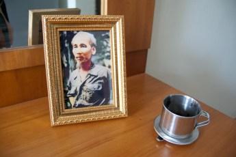 Ho Chi Min und Cafefilter