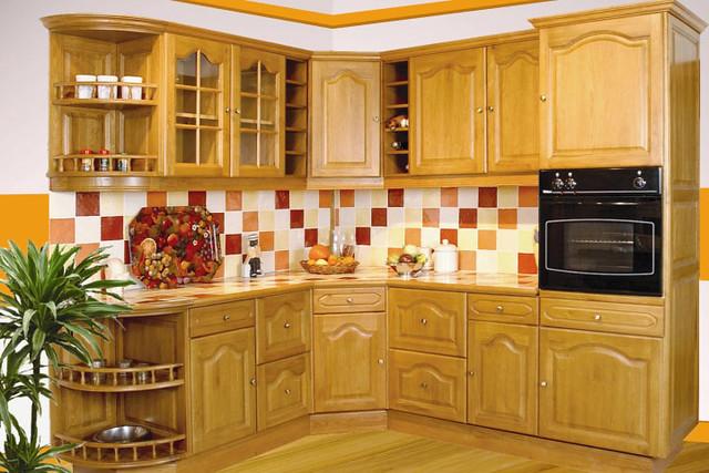 meuble cuisine couleur vanille