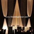 Wedding backdrop black amp ivory a black and ivory wedding