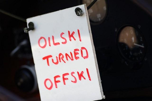 Oilski Turned Offski