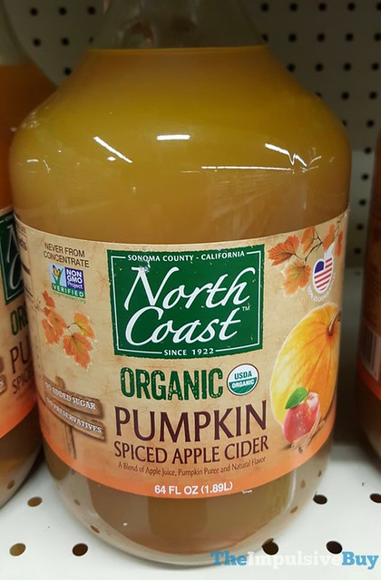 North Coast Organic Pumpkin Spiced Apple Cider