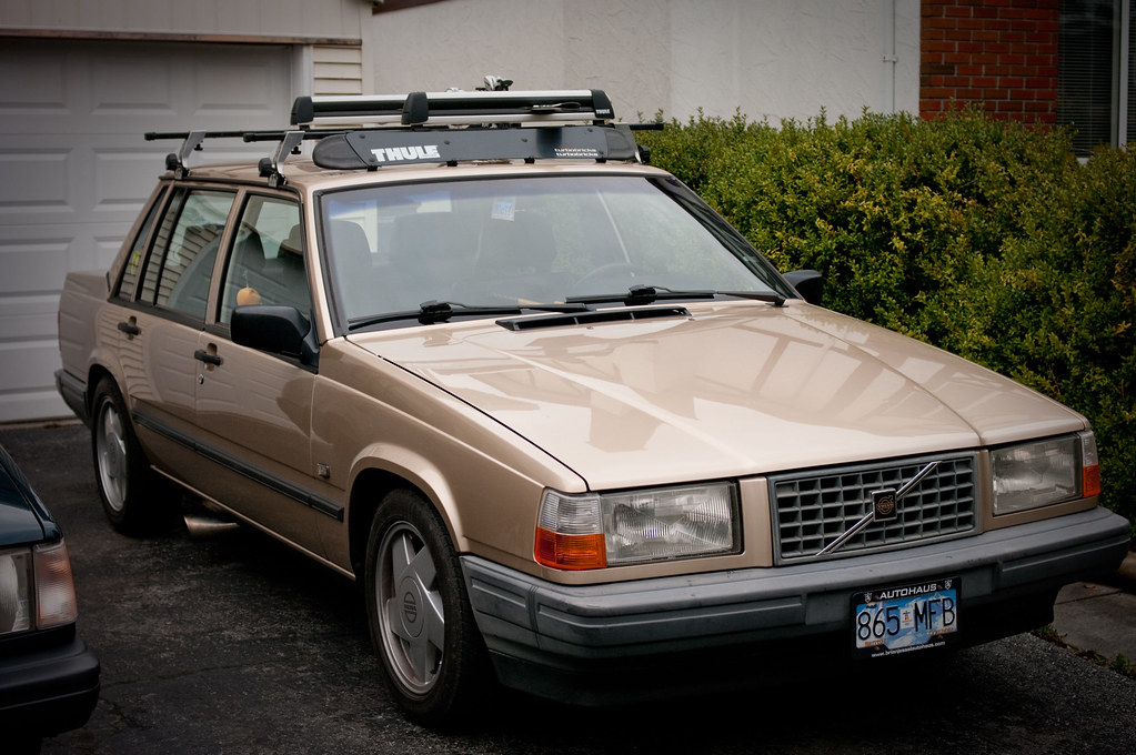 Volvo's with Roof Rack's