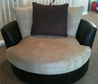 Gregory swivel chair -Rooms to Go-   With a gorgeous ...
