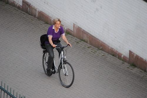 Mit dem Rad zum Bäcker ist nicht nur gut für die Umwelt, sondern auch für die Gesundheit CC-BY-SA von GoldstadtTV