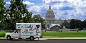 wikileaks truck capitol hill