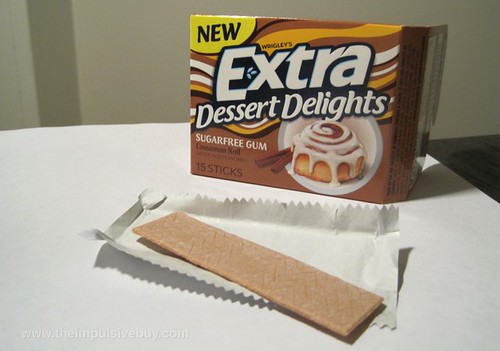 Wrigley's Extra Dessert Delights Cinnamon Roll Gum Looking at that dashing piece of taupe