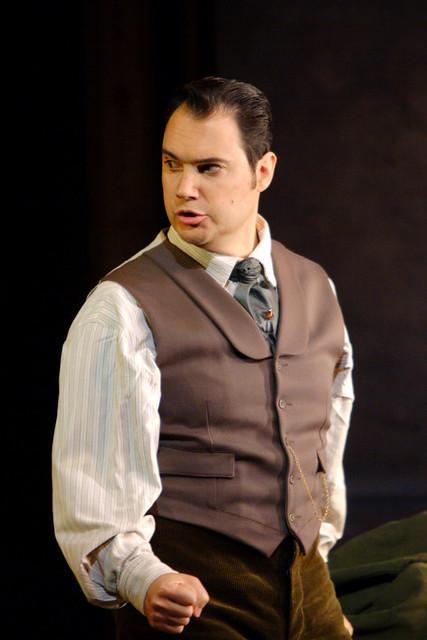 Francesco Demuro as Alfredo in La traviata, The Royal Opera © ROH / Catherine Ashmore 2014