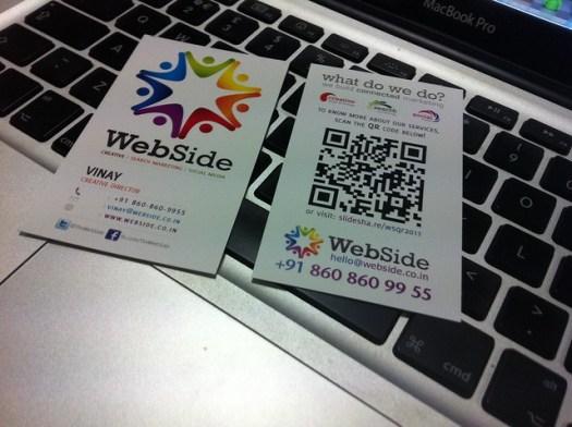 WebSide Business Cards