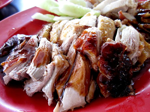 Chopsticks roast duck & chcicken