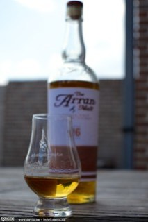 Arran 16 Year Old - Fruitig, Kruidig en lekker