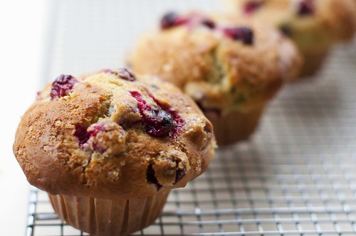 Lime Cranberry Muffins