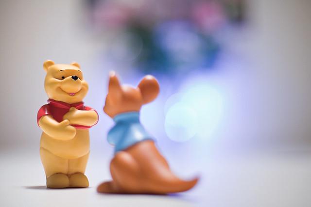Day Twenty One: Winnie The Pooh
