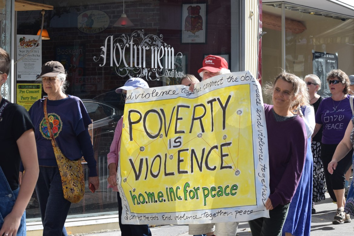 Bangor, ME End Violence Together Rally - CNV 2016 (41)