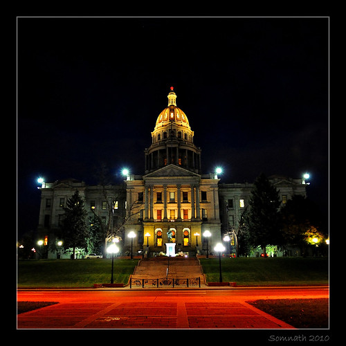 Colorado State Capitol by Somnath Mukherjee Photoghaphy