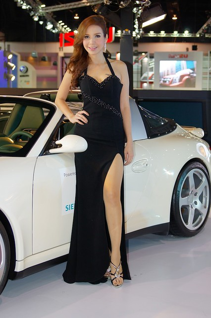 Girls and cars  another motor show in Bangkok  Flickr