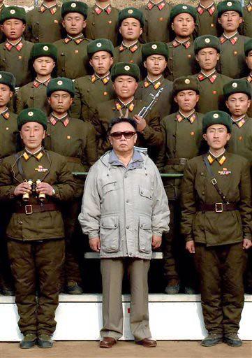 Kim Jong Il. Fuente: Flickr, babeltravel