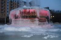 Frozen Fountain Queen's Gardens Hull | Flickr - Photo Sharing!