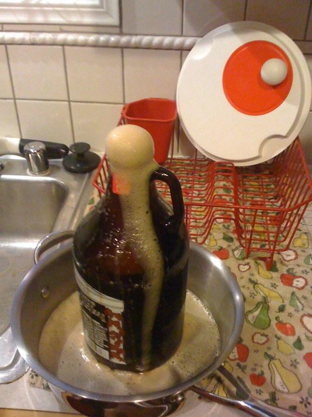 zach's inaugural brew
