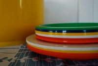Plastic picnic plates   Flickr - Photo Sharing!