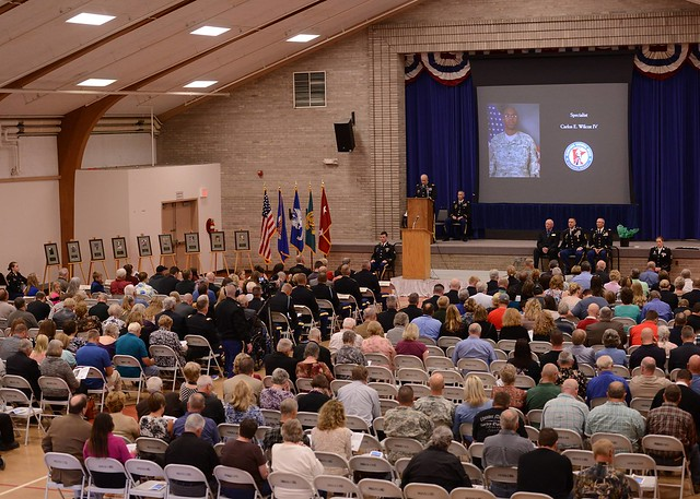 Memorialized inductees share remembrance and recognition during ceremony
