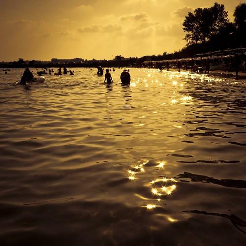 A Golden Moment in the Black Sea (Mer noire, Bulgarie) - Photo : Gilderic