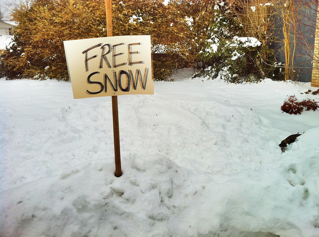 Free Snow sign  Explore Wesley Fryers photos on Flickr
