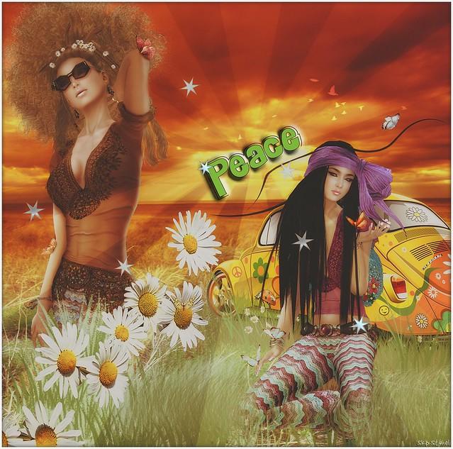 Cao and Draakje Flower Power